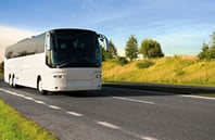 Ideal starting point for bus tours